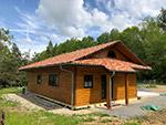 Dachneueindeckung LeonWood Holz-Blockhaus