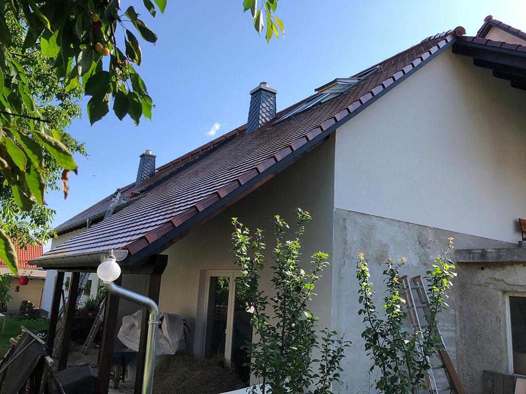 Dachneueindeckung Nebengebäude in Radibor