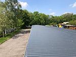 Dachsanierung Garagenkomplex in Bautzen