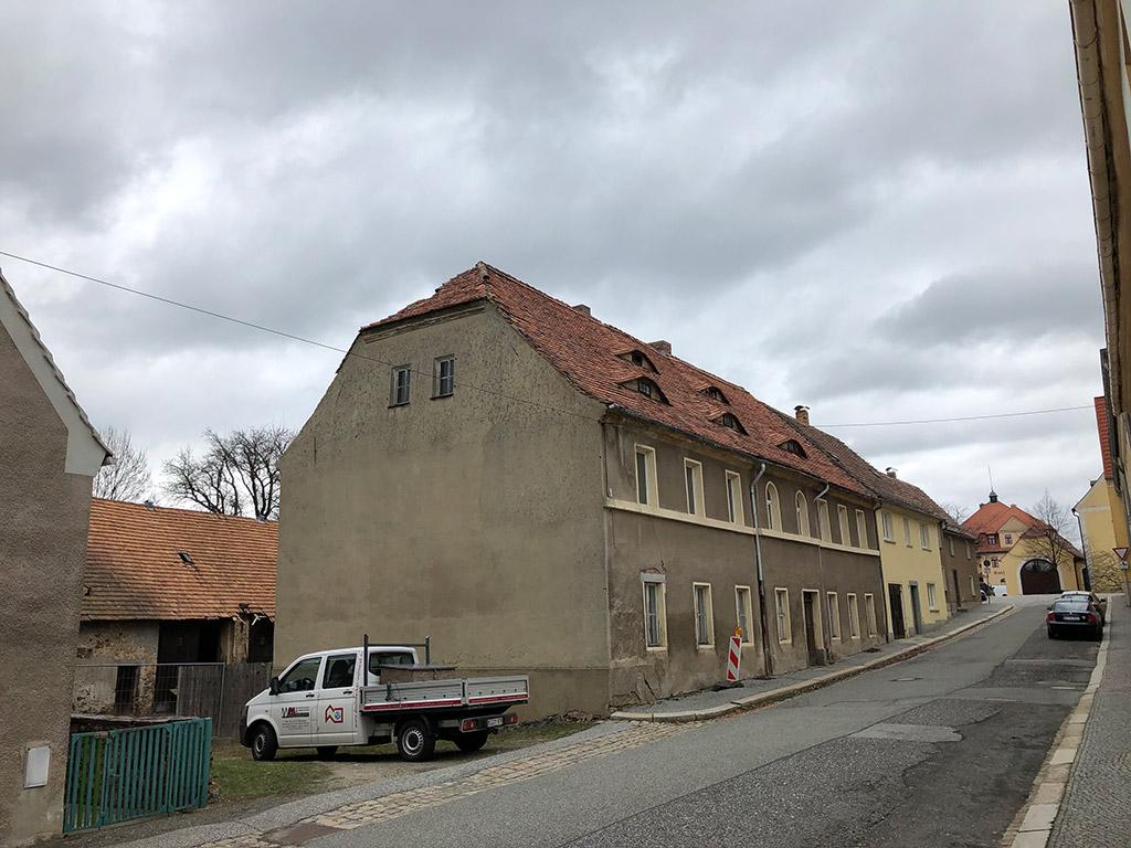 Dachsanierung Mehrfamilienhaus in Weißenberg