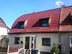 Dachsanierung Wohnhaus als Tonnendach