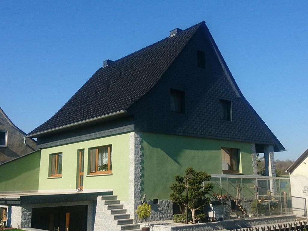Dachsanierung Wohnhaus in Kleinbautzen