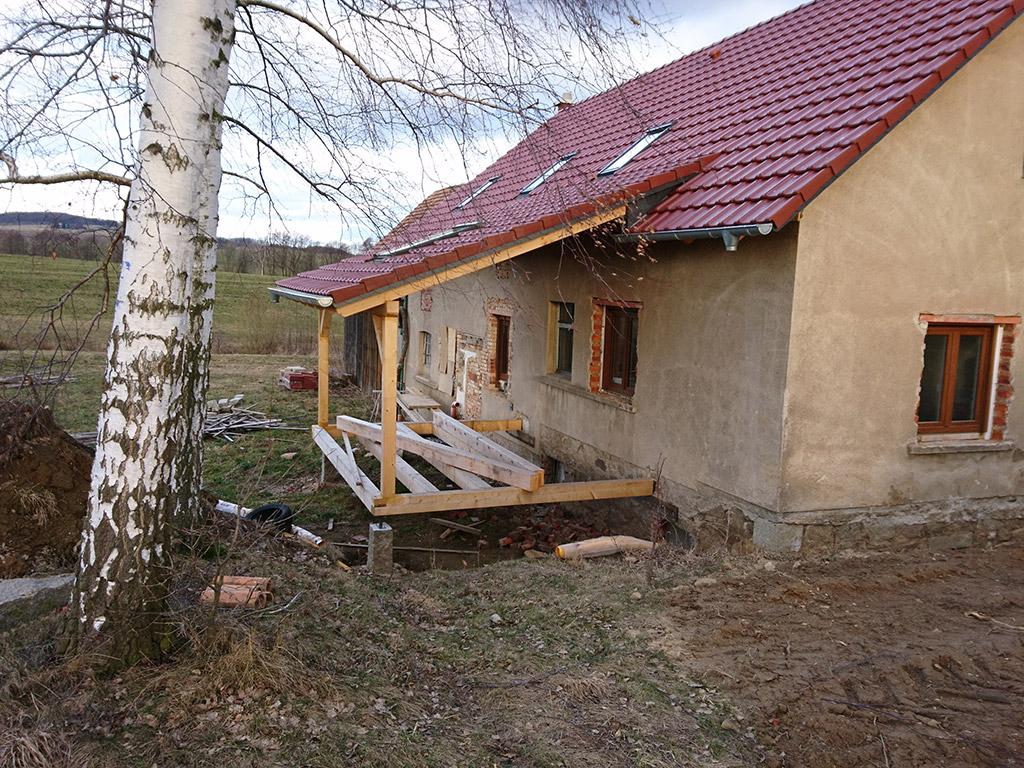 Dachsanierung Wohnhaus in Neukittlitz