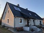 Dachsanierung Wohnhaus in Särka