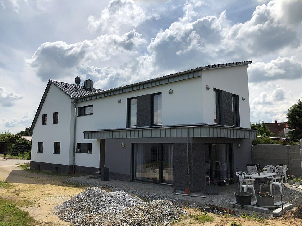 Dachsanierung Wohnhaus mit Anbau