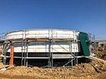 Fassadenverkleidung Biogas in Langwolmsdorf