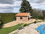 Neubau Gartenhaus in Nostitz