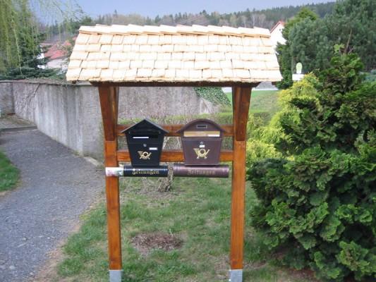 Briefkastenüberdachung