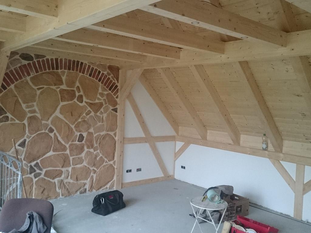 Umbau Dachgeschoß in Kotitz