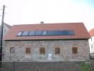 installierte Solaranlage